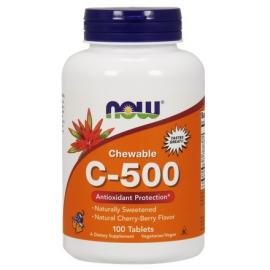 C-500 do ssania wiśniowe 100 tabl.