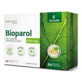 Bioparol - Olej z wiesiołka 500mg 60 kaps