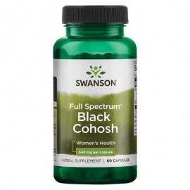 Black Cohosh (Pluskwica Groniasta) 540 mg 60 kaps.