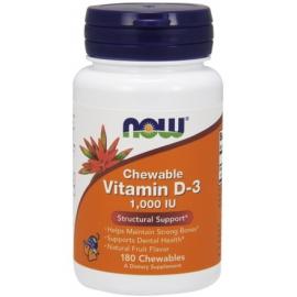 Witamina D-3 1000 IU 180 tabletek do ssania