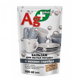 Bio Formuła Balsam do mycia naczyń z jonami srebra ZAPAS 500m