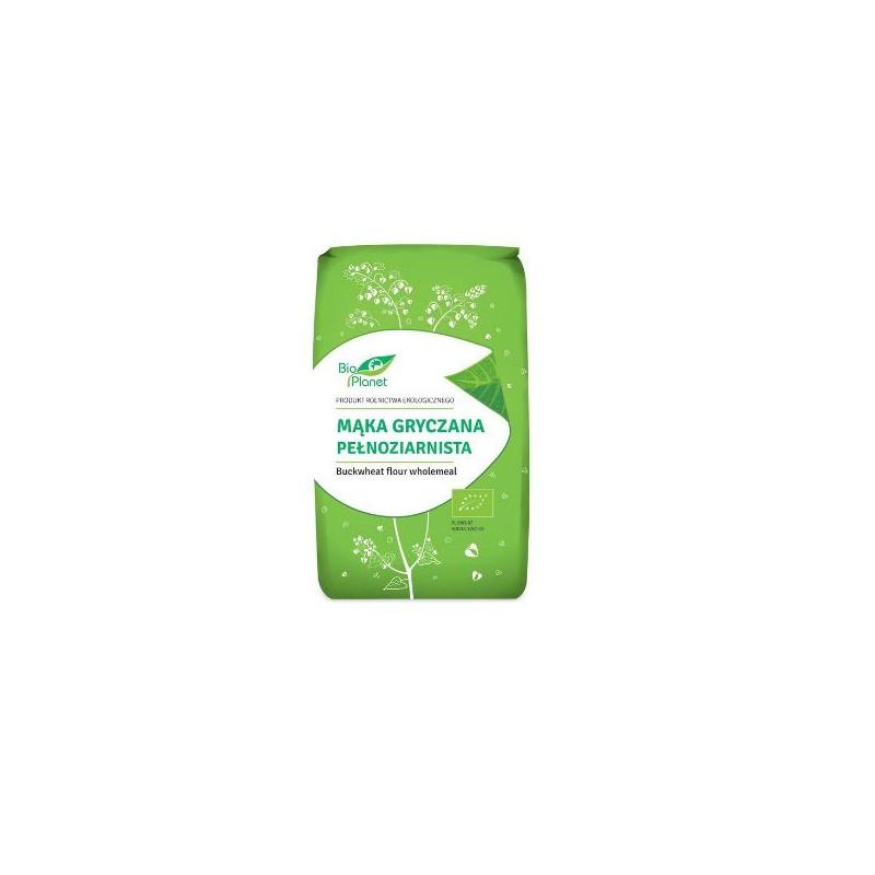 Bio Planet Mąka gryczana pełnoziarnista BIO 500 g