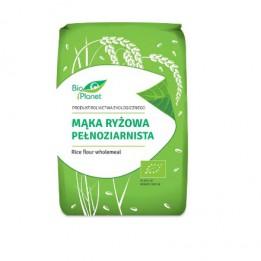 Bio Planet Mąka ryżowa pełnoziarnista BIO 1 kg