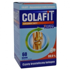 Colafit - Kolagen 99,9 % 60 kostek