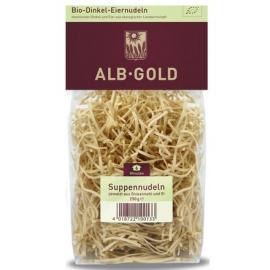 ALB GOLD Makaron orkiszowy jajeczny nitki BIO 250g