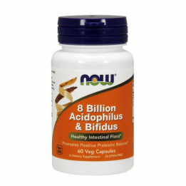 8 Billion Acidophilus & Bifidus 60 kaps.