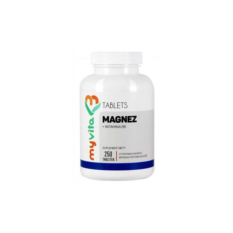Magnez + B6 450mg 250 tabl.