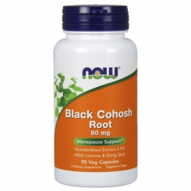 Black Cohosh Root 80mg (Pluskwica groniasta) 80mg 90 kaps.