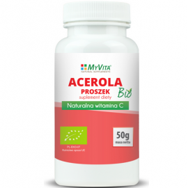 Acerola BIO proszek (sproszkowany sok) 50g