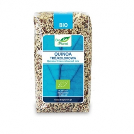 Bio Planet  Quinoa trójkolorowa (komosa ryżowa) BIO 500g
