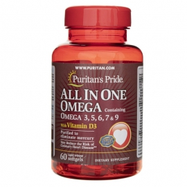 All in One Omega-3 60 kaps.