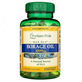 Borage Oil - Olej z nasion ogórecznika 1000mg 100 kaps.