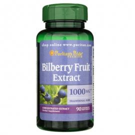 Bilberry extract 1000mg 90 kaps.