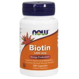 Biotin (Biotyna) 1000µg 100 kaps.