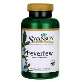 Feverfew 380mg 100 kaps.