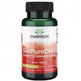 BioPure DHA dla dzieci 60 kaps.