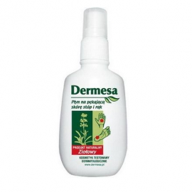 Dermesa - płyn na pękającą skórę stóp i rąk 65 ml