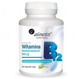 Witamina B12 Metylokobalamina 900ug 100 kaps.