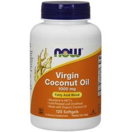 Coconut Oil Virgin (Olej z kokosa) 1000mg 120 kaps.