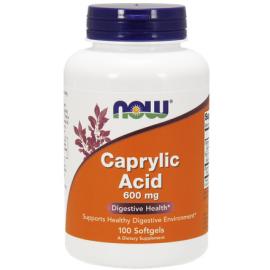Caprylic Acid (Kwas kaprylowy) 600mg 100 kaps.